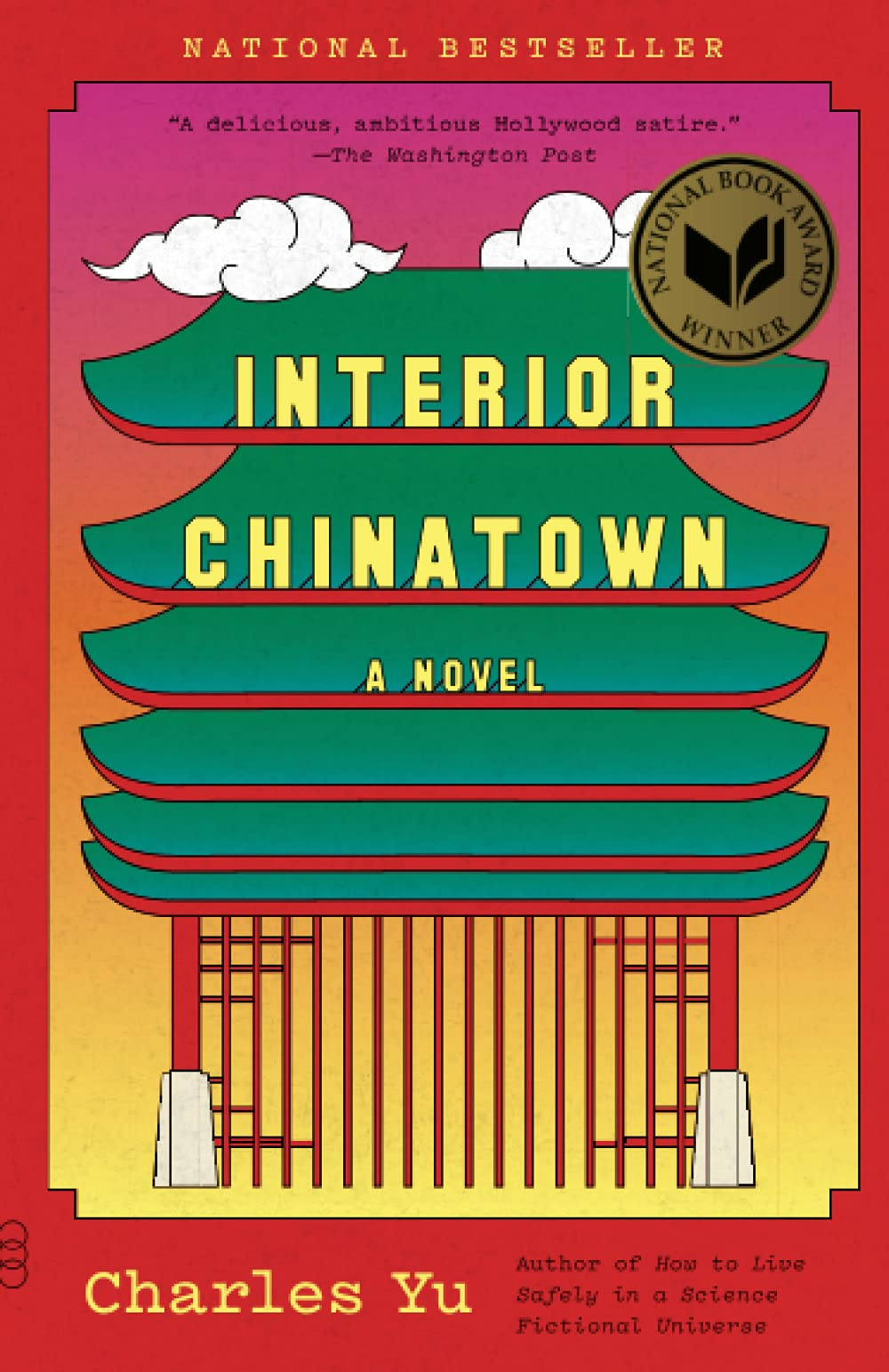 Book cover of Interior Chinatown by Charles Yu.