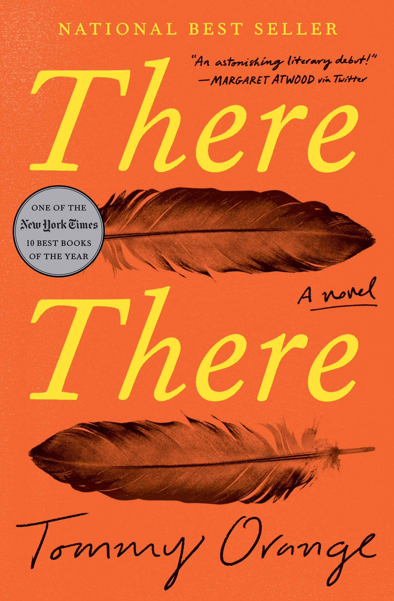 Book cover of There There by Tommy Orange.