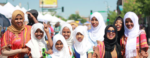 Ka Joog constituents celebrate Somali culture and history during Somali Week. Photo courtesy of Ka Joog.