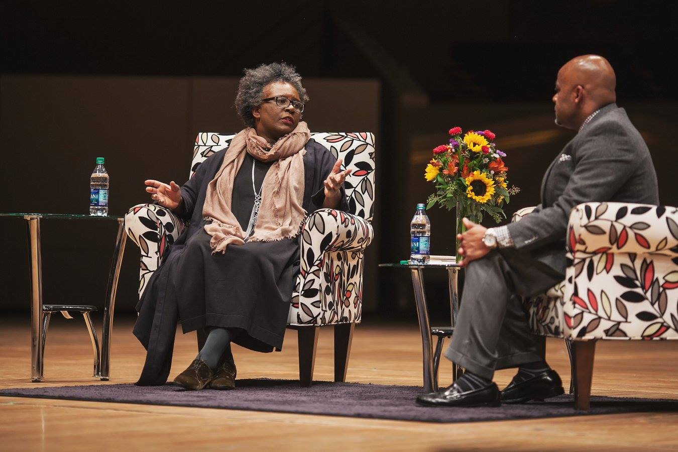 Claudia Rankine in conversation with Mayor Michael B. Hancock