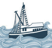 Fishing boat illustration