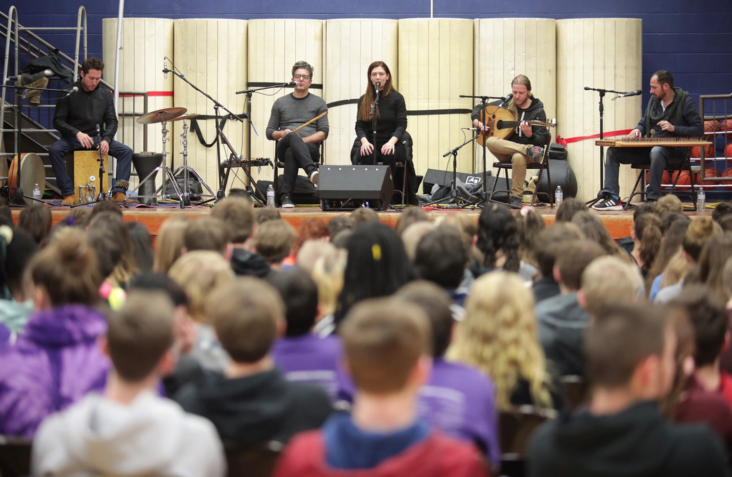 Sofi & the Baladis perform at Madison Middle/Elementary School.