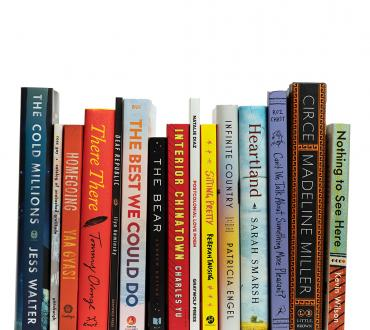 Stack of Big Read 2022-23 Book Selections