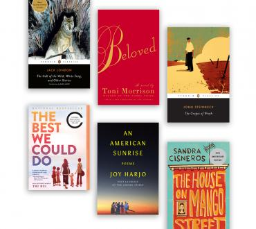 The six featured Big Read Books