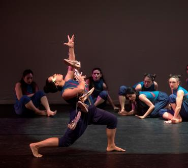 "Ananya Dance Theatre performs ""Shaatranga: Women Weaving Worlds"" at John Michael Kohler Arts Center."