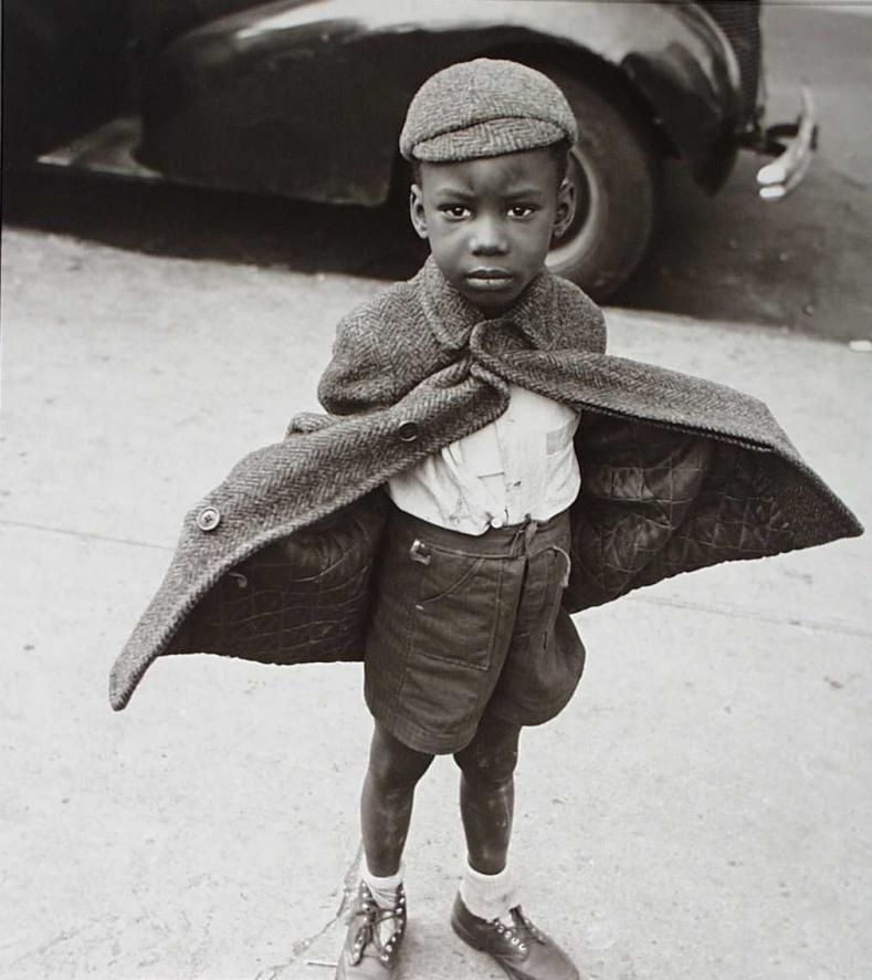 Butterfly Boy, New York, 1949