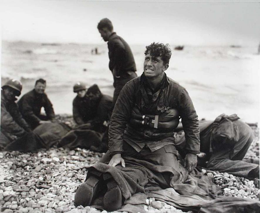 D-Day Morning, Omaha Beach, 1944